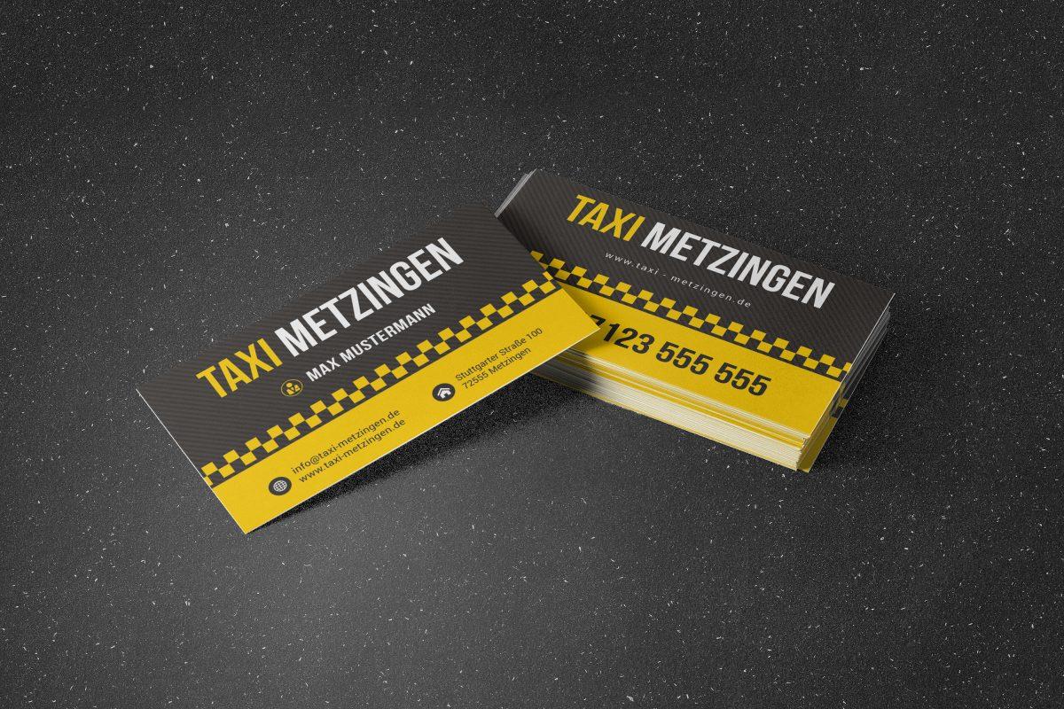 Details Zu Premium Taxi Visitenkarten Mit Online Designer Selber Gestalten