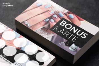Bonuskarten Nagelstudio