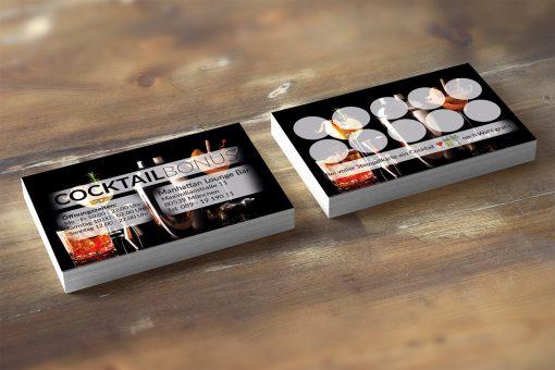 Premium Cocktail Bonuskarte Black-Edition 2