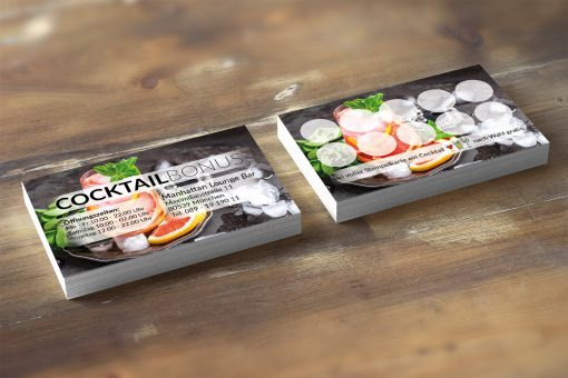 Premium Cocktail Bonuskarte Grapefruit-Minze Edition 2