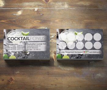 Premium Cocktail Bonuskarte Margarita Edition