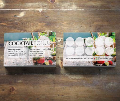 Premium Cocktail Bonuskarte Mojito-Edition