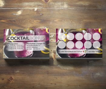 Premium Cocktail Bonuskarte Purple Haze Edition