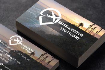 Visitenkarten Reiseagentur / Reisebüro