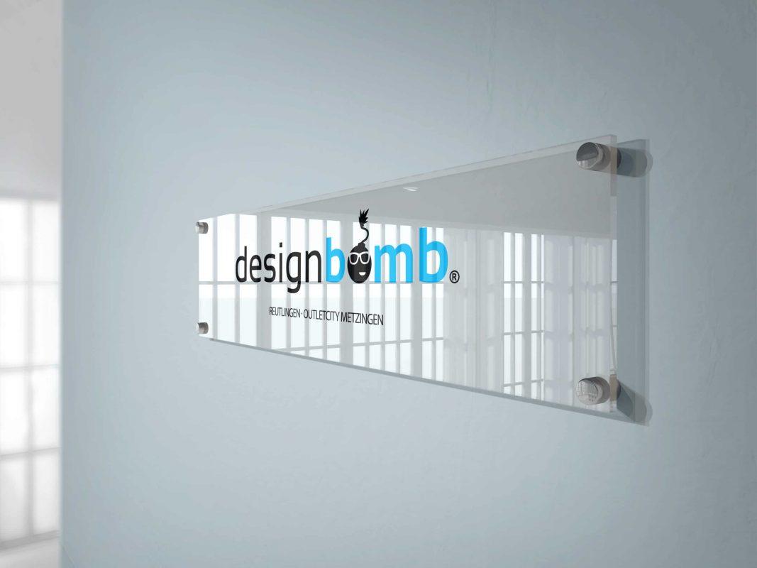 designbomb Glass plate