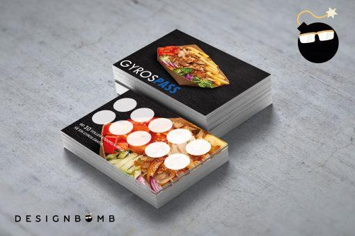 designbomb GyrosPASS Bonuskarte 2