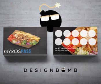 designbomb GyrosPASS Bonuskarte 3