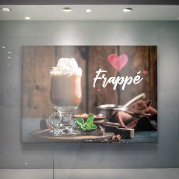 I Love Frappé Mockup Vorschau