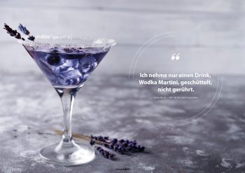 Fotoplakat Wodka Martini Bond